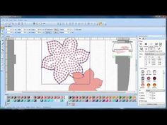 BERNINA CrystalWork: how to create a design with the CrystalWork Software - YouTube