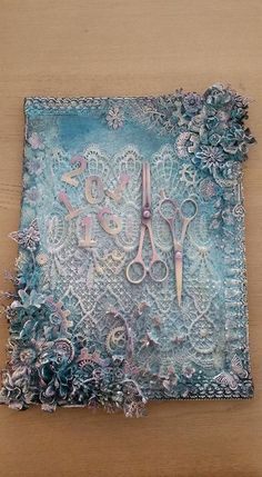 Mixed media Canvas made by Irene Wijnands