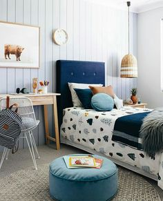 Choose from the largest collection of Kids Room Design & Decorating Ideas to add style. Discover best Kids Room interior inspiration photos for remodel & renovate. Cozy Bedroom, Girls Bedroom, Feminine Bedroom, White Bedroom, Kid Bedrooms, Childrens Bedrooms Boys, Modern Bedroom, Bedroom Storage, Bedroom Inspo