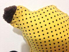 Almofada Banana - Detalhes ate no cabinho! :)