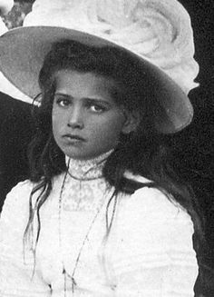 Duchess Marie Romanov, third daughter of Czar Nicholas and his wife, Czarina, Alexandra (granddaughter of Queen Victoria).