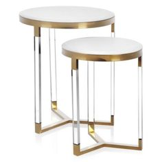 Z Gallerie - Obsessed With Style - July Savings - Murano Tables - Set of 2 Table Furniture, Furniture Design, Furniture Ideas, Glass Furniture, Furniture Nyc, Furniture Stores, Garden Furniture, Office Furniture, Design Minimalista