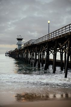 Seal Beach Pier. Seal Beach is home to the second longest wooden pier in the country.