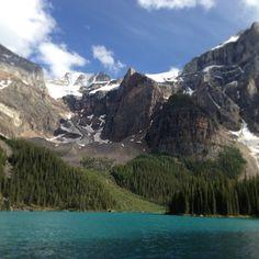 Mount Temple paikassa Lake Louise, AB