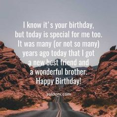 Best Birthday Wishes for Brother Images 3 Birthday Wishes For Brother, Best Birthday Wishes, It's Your Birthday, Happy Birthday, Brother Images, Best Friends, Best Anniversary Wishes, Happy Brithday, Beat Friends