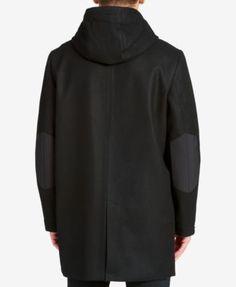 Dkny Men's Performance Hoodie Coat - Black XXL