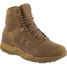 Valsetz RTS Coyote Brown Tactical Boots by Under Armour - Real Time - Diet, Exercise, Fitness, Finance You for Healthy articles ideas Combat Boots, Under Armour Military, Military Gear, Duty Boots, Military Looks, Military Style, Military Fashion, Tactical Gear, Outfits