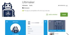 Ultimaker Releases iOS and Android Mobile Support & Troubleshooting App for Lineup of 3D Printers  We often picture the creative genius as an eccentric brilliant type locked away in a basement or workshop tinkering away happily and alone. And while the artists spirit often craves solitude and embraces making... View the entire article via our website. http://ift.tt/1LOtTbq