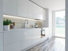 10 New Remodeling Galley Kitchens kuchnia od houselab kuchnia styl nowoczesny houselab of galley kitchen cabinet design ideas of galley kitchen cabinet design Kitchen Room Design, Kitchen Cabinet Design, Kitchen Sets, Modern Kitchen Design, Living Room Kitchen, Kitchen Layout, Interior Design Kitchen, New Kitchen, Kitchen Decor