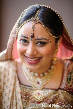 indian wedding bride hair makeup http://maharaniweddings.com/gallery/photo/9692