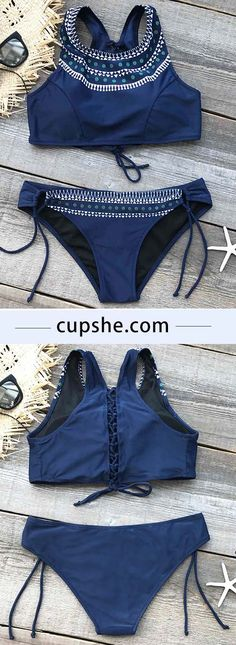 $21.99 Only with faster shipping & easy returns! Look up to me tank bikini is the perfect go to bathing suit for style and comfort! More saved for you at Cupshe.com