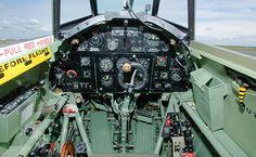 Up Close: Hurricane Hawker - Flight Journal Navy Aircraft, Ww2 Aircraft, Military Aircraft, Aircraft Images, Aircraft Interiors, The Spitfires, Hawker Hurricane, Ww2 Planes, Battle Of Britain