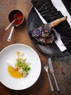 Mikkel Olsen. Kay Bojesen dinner knife, dinner fork, and dressing spoon. Kay Bojesen Grand Prix cutlery. Danish Design.