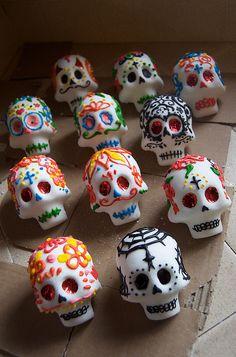 Sugar Skulls by miss ivonne