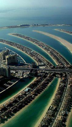 Dubai Palm Island, Emirados Árabes Unidos, Cidade