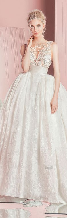 Vestido de novia corte princesa | bodatotal.com | wedding dress, bride to be, novias, bodas, wedding ideas