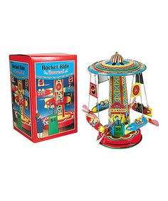 Another great find on #zulily! Rocket Ride Carousel by Schylling #zulilyfinds