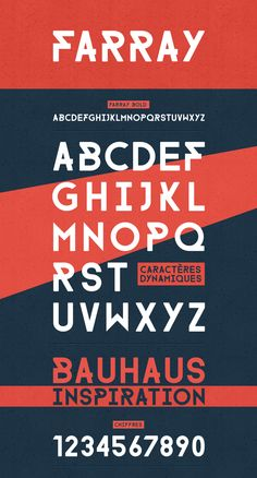 FARRAY FONT /// FREE DOWNLOAD by Adrien Coquet, via Behance
