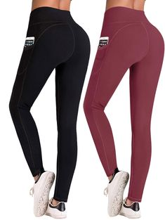 IUGA High Waist Yoga Pants with Pockets, Tummy Control, Workout Pants for Women 4 Way Stretch Yoga Leggings with Pockets ** Visit the image link more details. (This is an Amazon affiliate link) #yogapants