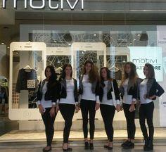 BeA Models for Motivi #fashion in #Milan  October 2014