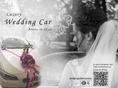 Isha Creations Home page Wedding Car, Luxury Wedding, Creation Homes, Celebration Day, The Dreamers, Car Rental, Big, Celebrities, Things To Sell