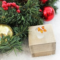 There is a magical place ( Christmas Is Coming, Christmas 2017, Winter Is Coming, Christmas Gifts, Amber Ring, Amber Stone, Christmas Jewelry, Baltic Amber, Etsy Jewelry