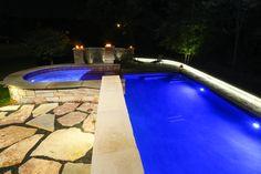 Grayslake, IL - Custom pool & spa - Quantus Pools quantuspools.com 847-907-4995