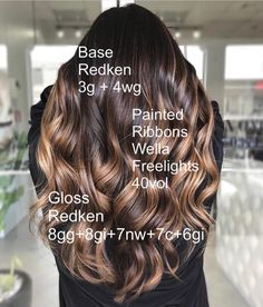 Honey Glazed Doughnut 🍩 ❤️ was used in all formulations Be aware of the temperature in the room while processing, this can determine if you will get maximum lifting results 🔥 Brown Hair Shades, Hair Color Shades, Hair Color And Cut, Brown Hair Colors, Brown Hair Balayage, Brown Blonde Hair, Hair Highlights, Dark Hair, Hair Color Formulas