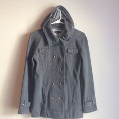 Ezekiel jacket Ezekiel gray jacket. Hood is removable. Super cozy! Size small. Pre-loved, but in good condition. Ezekiel Jackets & Coats