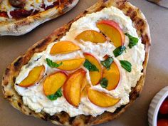 Peach, Ricotta, and Honey Grilled Pizza | Delish.com