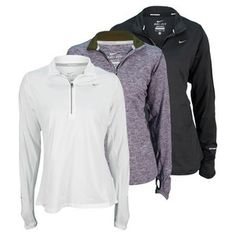 NIKE Women`s Element Half Zip Running Top. Maybe when I actually start running!