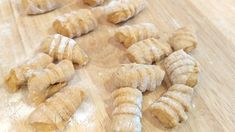 Watch how to roll fresh gnocchi off a fork! Then get the recipe for these pumpkin gnocchi!