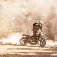 """6,893 Likes, 24 Comments - Triumph Motorcycles (@officialtriumph) on Instagram: """"Today we're kick starting 2017! What will this year bring for you? Or more important what/where…"""""""