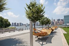 The waterfront  — 12 acres of it so far —   has been transformed into Gantry Plaza State Park.