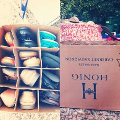 Shoe packing for college in boxes from the liquor store! I'll have to find someone who drinks it first...