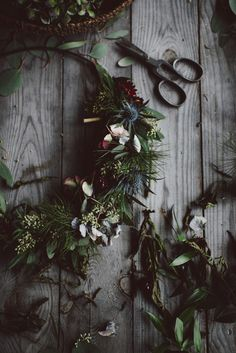 Flower wreath by Babes in Boyland Grinch Who Stole Christmas, Noel Christmas, Rustic Christmas, Christmas Wreaths, Christmas Decorations, Xmas, Holiday Decor, Father Christmas, Christmas Greetings