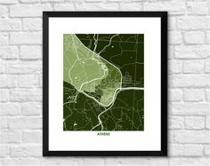 Athens, Ohio Art Map Print. Choose your Colors and Size. Art Map Print of Athens, Ohio, home to Ohio University and the Bobcats. Perfect art for your home or office. Maps & Charts make great home decor and gifts. Looks great on any wall. Pick the size and colors that match your space and style. This print does NOT come with a frame. The print does come in standard sizes, so framing is easy: 8.5 x 11, or 11 x 14, or 13 x 19: THIS SIZE is formatted perfectly for the IKEA RIBBA FRAME that...