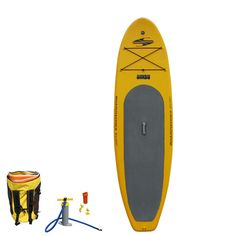 The Shubu inflatable standup paddleboard (SUP).  Just show up and blow it up!