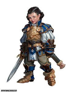 Dwarven Fighter Iconic