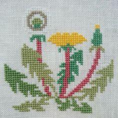 Fair Isle Pattern, Knitting Charts, Dandelions, Pixel Art, Cross Stitch Patterns, Diy And Crafts, Weaving, Embroidery, Shorts