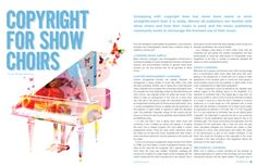 Copyright for Show Choirs  - Productions Magazine