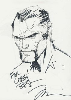Ra's Al Ghul by Jim Lee.