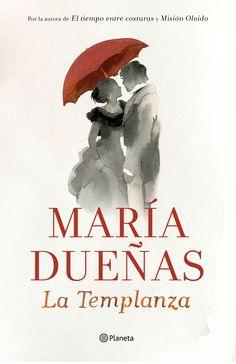 """""""La Templanza"""" María Dueñas.  Nada hacía suponer a Mauro Larrea que la fortuna que levantó tras años de tesón y arrojo se le derrumbaría con un estrepitoso revés. Ahogado por las deudas y la incertidumbre, apuesta sus últimos recursos e n una temeraria jugada que abre ante él la oportunidad de resurgir. Hasta que la perturbadora Soledad Montalvo, esposa de un marchante de vinos londinense, entra en su vida envuelta en claroscuros para arrastrarle a un porvenir que jamás sospechó."""