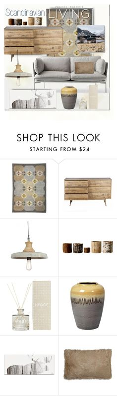 """""""Scandinavian Design"""" by esch103 ❤ liked on Polyvore featuring interior, interiors, interior design, home, home decor, interior decorating, C.R.A.F.T., Bloomingville, Broste Copenhagen and Silhouette"""