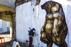 JAZ New Mural In London, UK StreetArtNews
