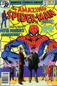 Amazing Spider-Man # 185 by Ross Andru & Mike Esposito