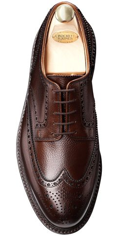 Pembroke Darkbrown Scotch Grain | Crockett & Jones