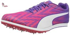 Puma Evospeed Star 5 Wn, Chaussures de Running Compétition Femme, Rose (Sparkling Cosmo-Electric Purple-Puma White 01), 37.5 EU - Chaussures puma (*Partner-Link)