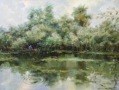 Рыбное место!, автор Сергей Бессонов. Артклуб Gallerix