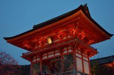 Kiyomizudera Temple  (Kyoto Higashiyama Hanatoro) 清水寺 (京都東山花灯路)